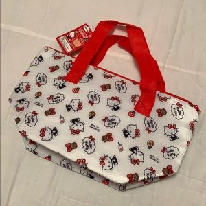Hello Kitty lunch tote from Japan insulated cute